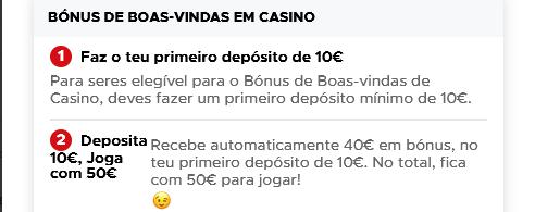 casino betclic bónus deposite 10 jogue com 50